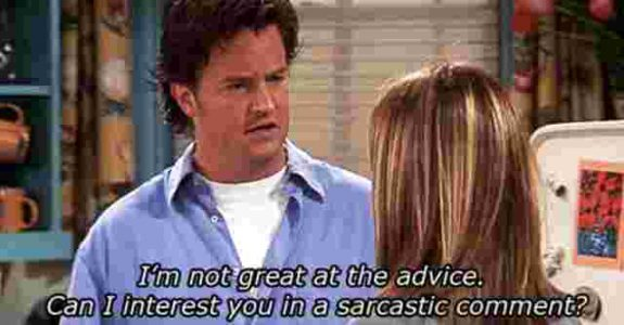 Friends Chandler Bing gifts for friendships day