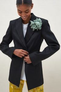 Exclusive collection - Jacket with Brooch