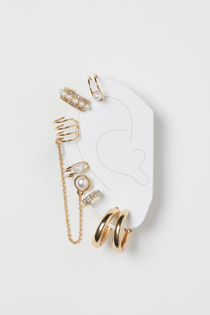 Earrings and ear cuffs-accessories