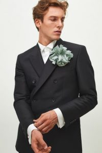 H&M Exclusive Collection - Wool-blend Tuxedo Jacket