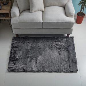 Faux sheep skin rug - living room design essentials