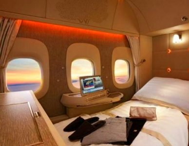 Emirates, First Class Suites