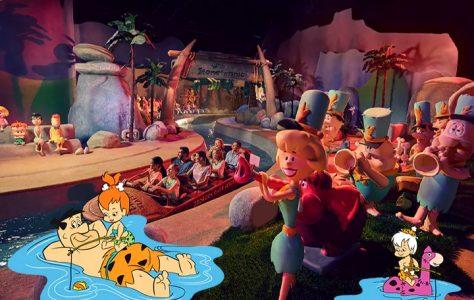 The Flintstones Bedrock River Adventure Warner Bros Abu Dhabi