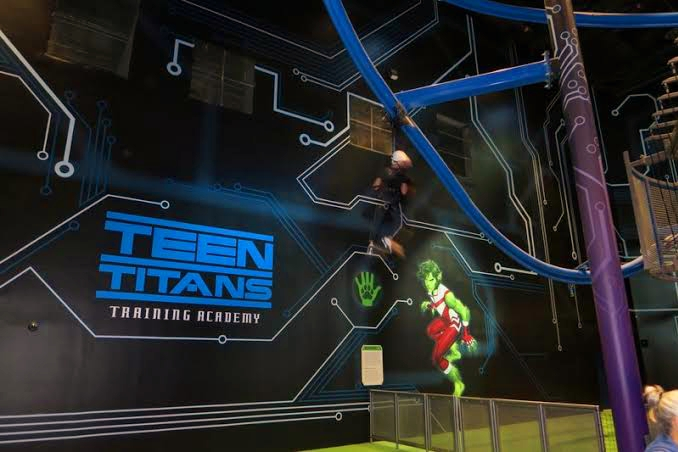 Teen Titans Training Academy