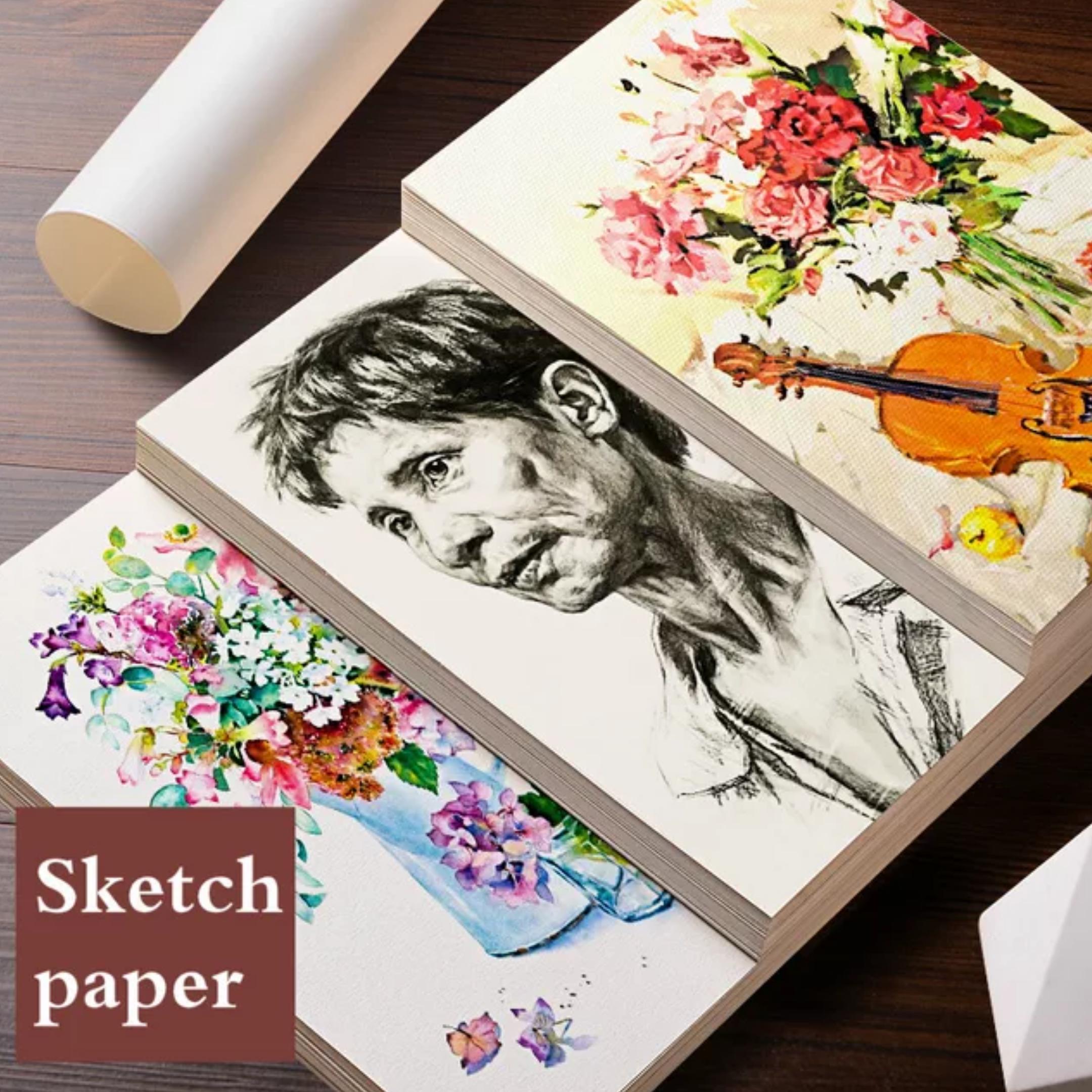 Personal art studio watercolor paper