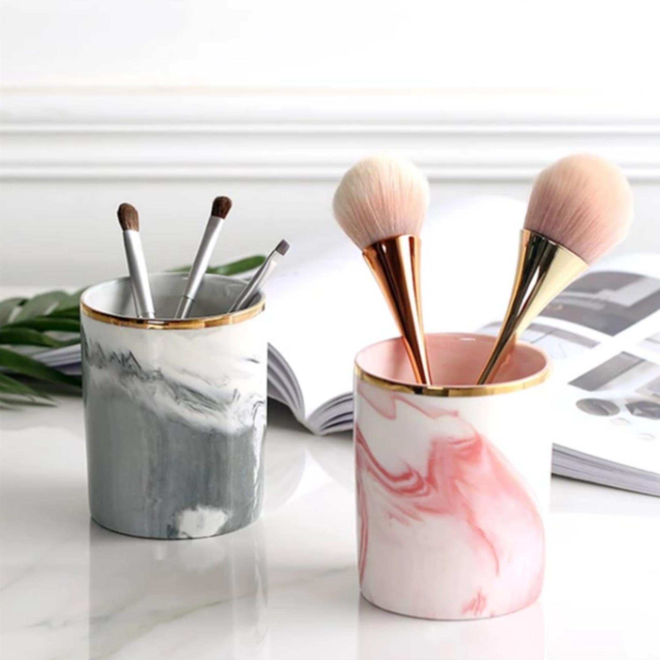 Personal art studio Nordic marble jar