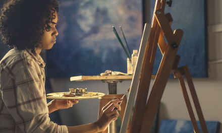 How to get started with a personal art studio at home