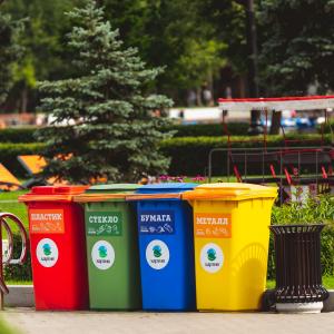 Zero waste lifestyle: segregate