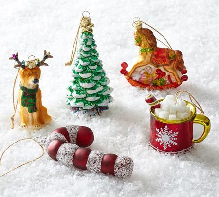 christmas interior house decorations - baubles