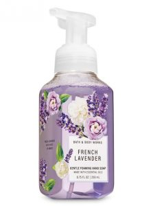 Hand soaps - foaming soaps from Bath & Body Works