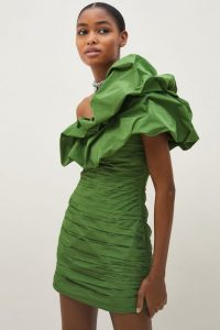 Exclusive collection - Draped One-shoulder Dress