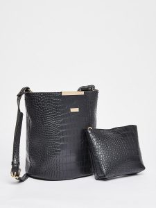 Perfect handbag - Textured Tote Bag with Pouch