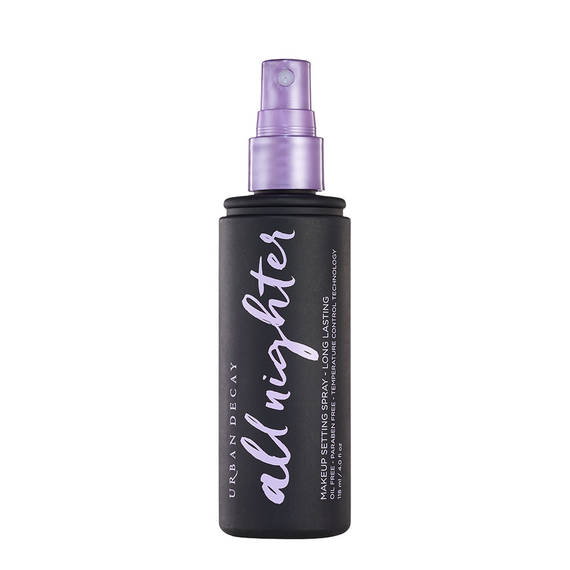 summertime makeup tips - Urban Decay's All Nighter Long Lasting Makeup Setting Spray Clear