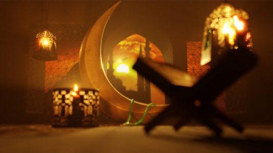 ramadan moon lantern