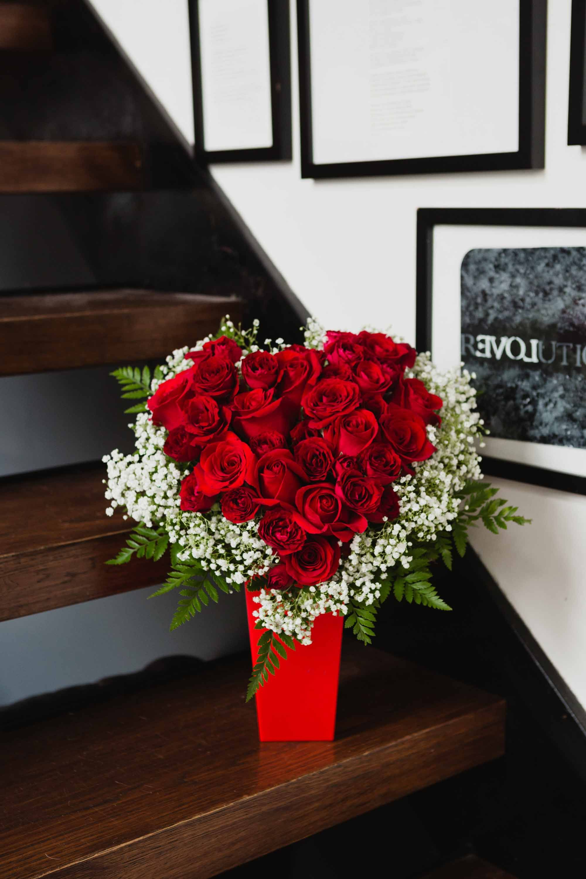 Flowers and chocolates for your Valentine