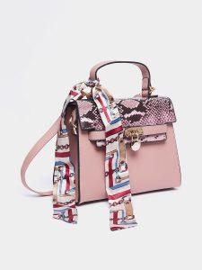 Perfect handbag - printed handbag with shawl