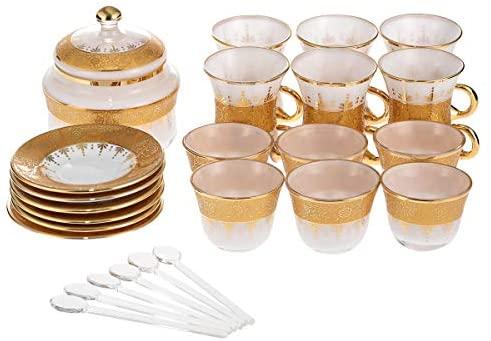 Glass serve sets