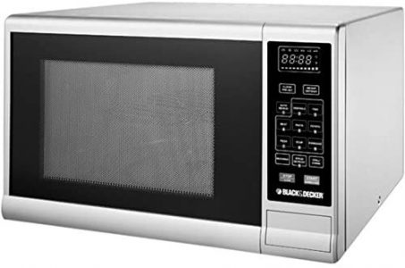 Black+Decker Microwave Oven with Grill