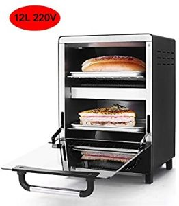 Mini Electric Convection Oven Vertical Bakery Toaster Timer - best baking ovens