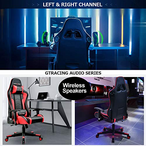 GTRACING Gaming Chair with Bluetooth Speakers- best gaming chairs