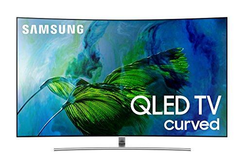 Smart TVs in UAE - Samsung Electronics QN55Q8C Curved 55-Inch 4K Ultra HD Smart QLED TV