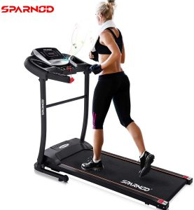 Sparnod Fitness STH-1200 (3 HP Peak) Automatic Treadmill - best Treadmills for home
