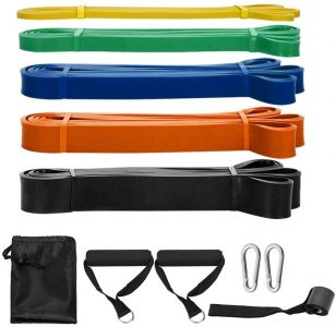 Resistance bands for a gym at home
