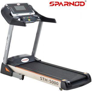 Sparnod Fitness STH-5000 (5 HP Peak) Automatic Treadmil (UAE)
