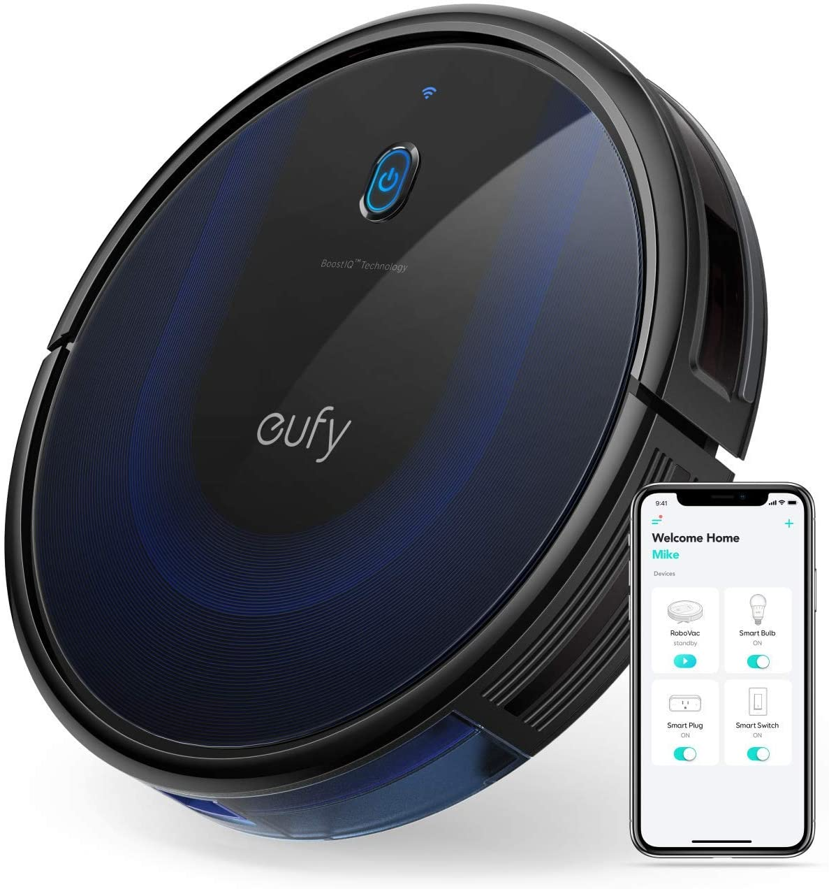 Smart home gadgets - robot vacuum cleaner