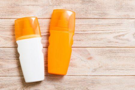 Beach Essentials - sunscreen
