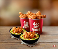 Online delivery and takeouts from Deliveroo: KFC