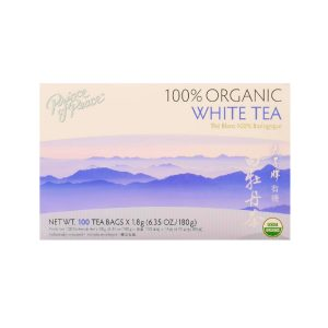 Organic, white tea for a video-call party!