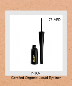 Certified Organic Liquid Eyeliner