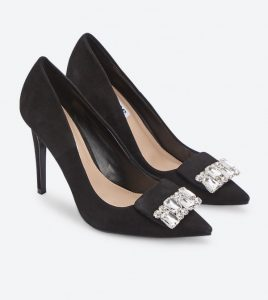 holiday outfits for women - Trim Court Pumps