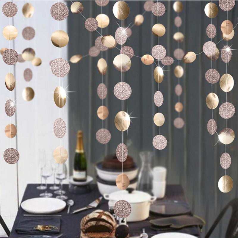 festive decorations - Paper Garlands