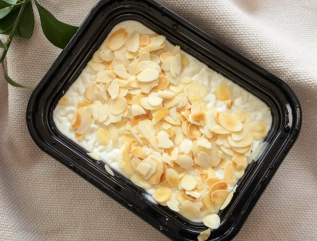Rice pudding - a meal for Ramadan