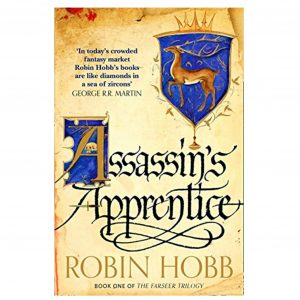 fantasy and adventure books - Assassin's Apprentice