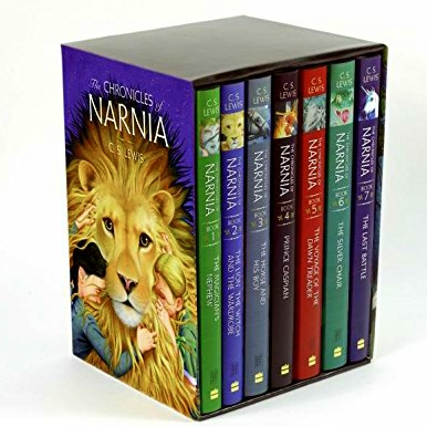 fantasy and adventure books - The Chronicles of Narnia
