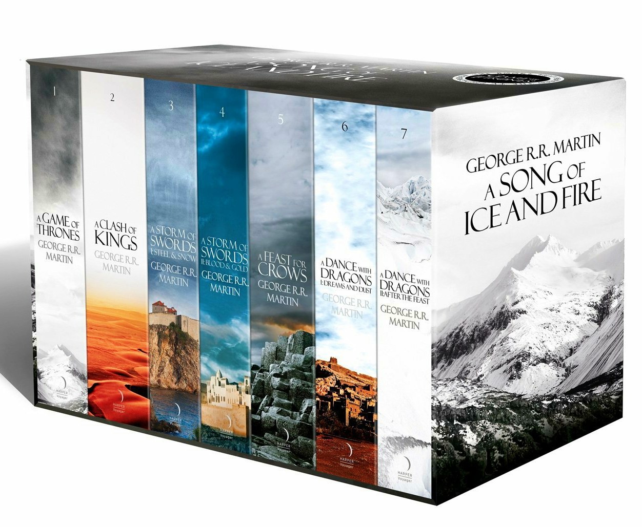 fantasy and adventure books - A Song of Ice and Fire