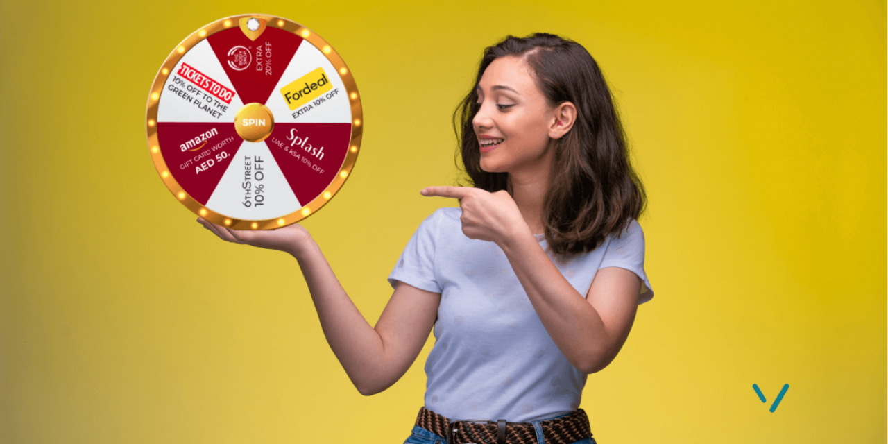 Introducing VoucherCodesUAE's own Wheel of Fortune: Spin to Win