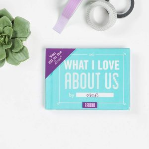 Valentine's day gifts for her - what I love about us