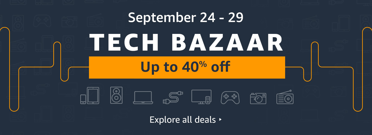 Amazon's Tech Bazaar reigns till September 29 and here are the must-haves