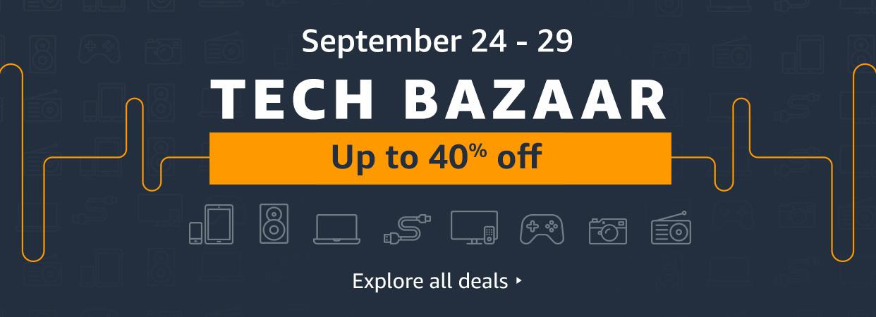 Amazon's Tech Bazaar reigns till September 29