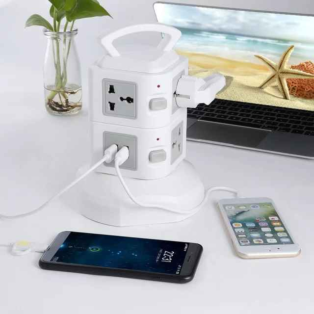Work desk accessories surge protector