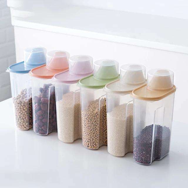 Zero waste lifestyle products: Clear container set