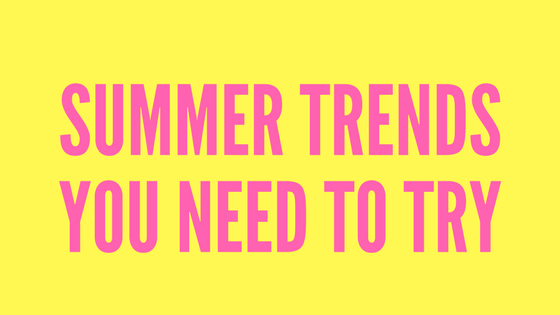 4 Runway Summer Trends That You Can Actually Wear