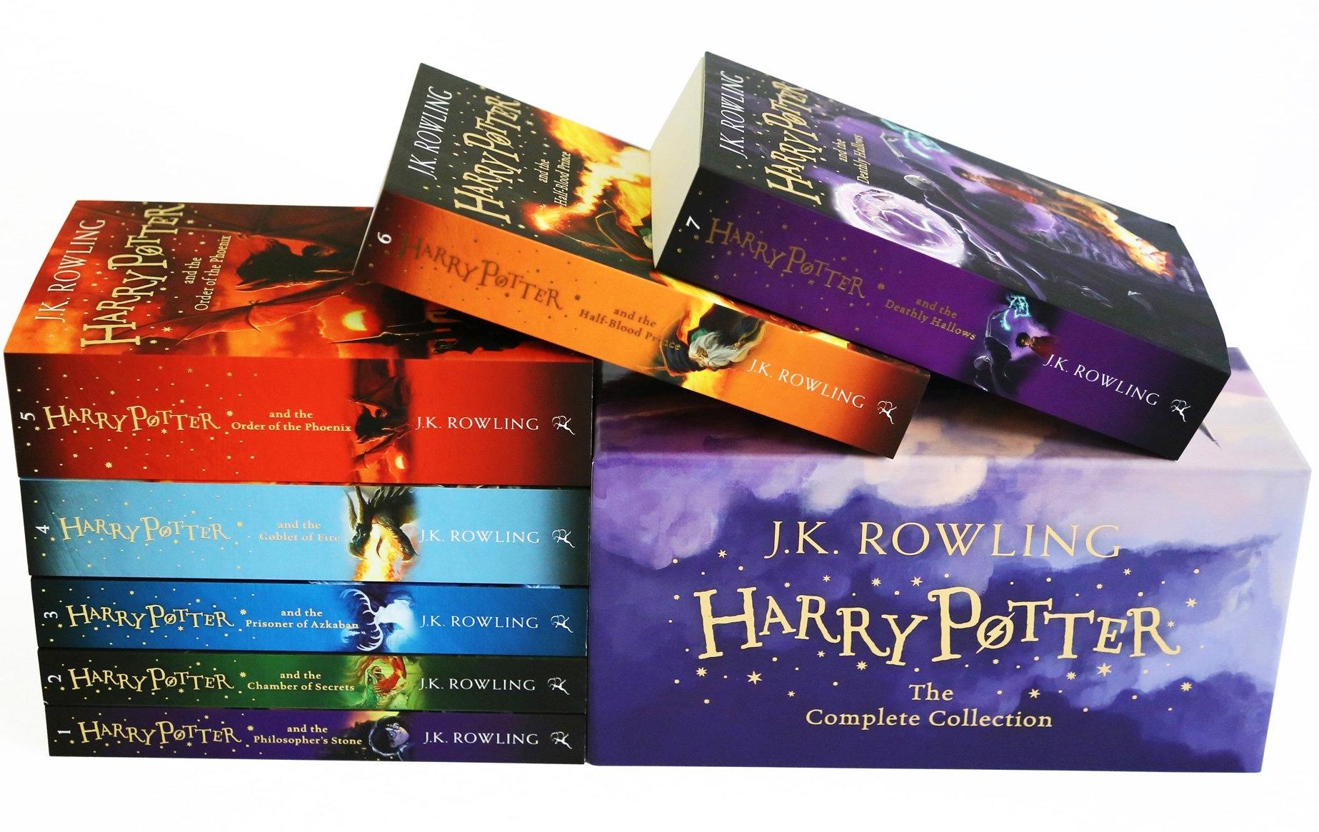 Best selling product on Amazon - Harry Potter Box SetPaperback