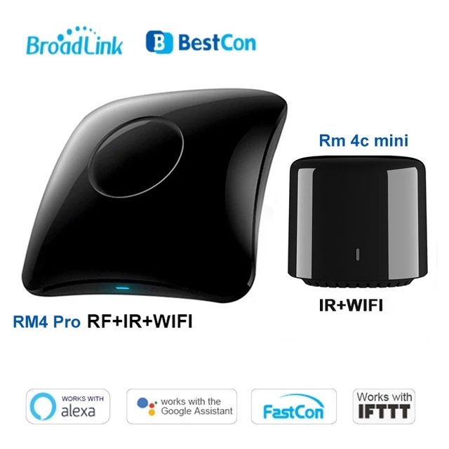 Smart home gadgets - Broadlink Mini Smart Home WiFi IR/RF Remote Controller