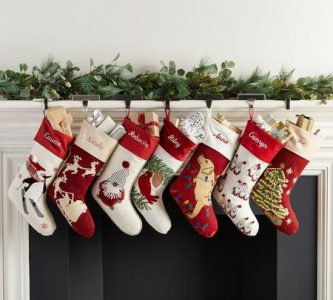 christmas interior house decorations -socks