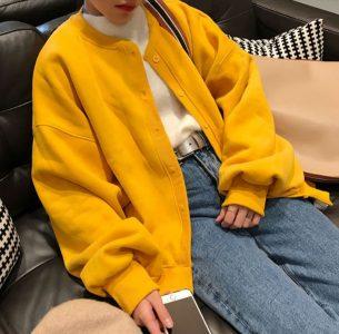 Yesstyle yellow cardigan K-fashion